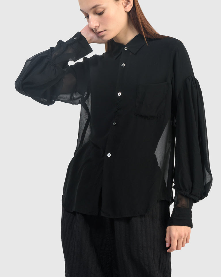 B011 Blouse in Black