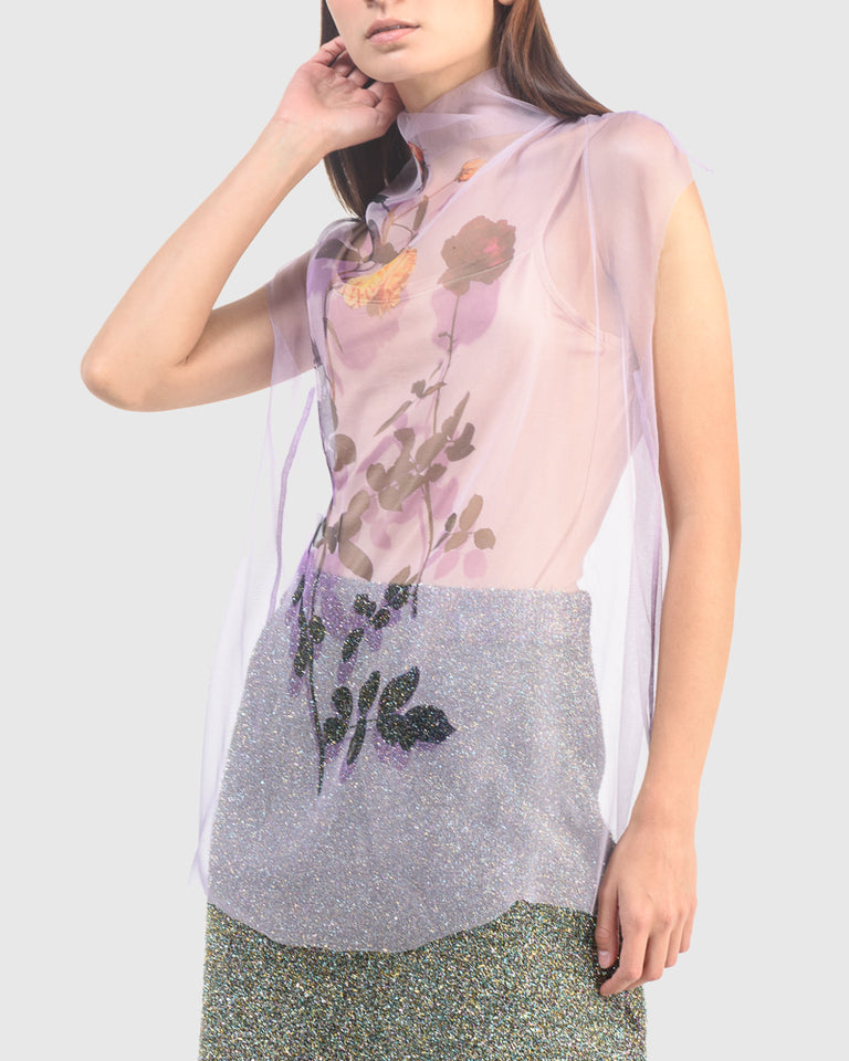 Chiara Bis Shirt in Pale Violet