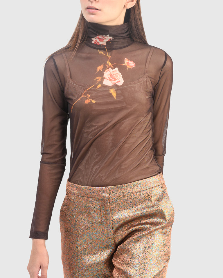 Hetala Jersey in Brown