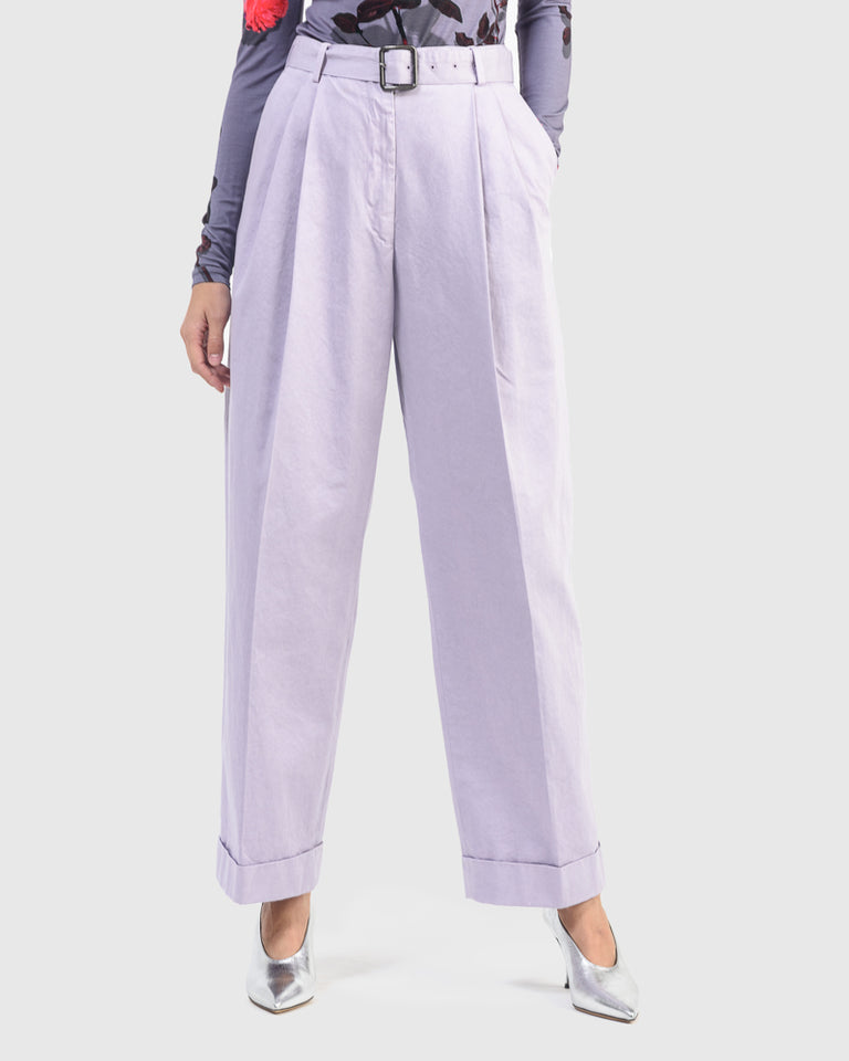 Partan Pants in Lilac