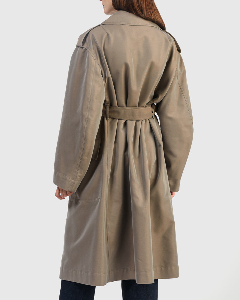 Row Coat in Ochre