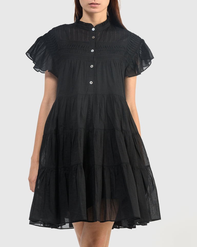Lanikaye Dress in Black