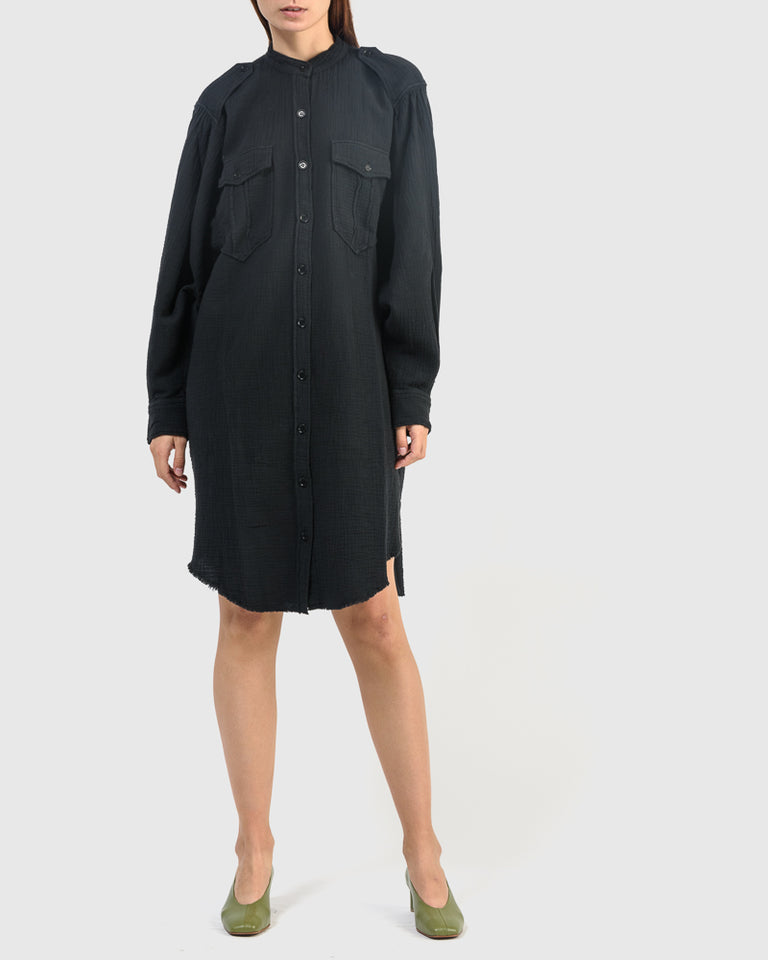 Jasia Dress in Faded Black