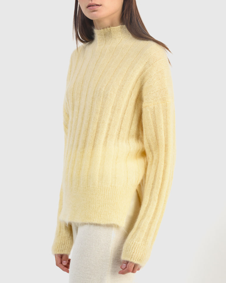 Makura Sweater in Butter