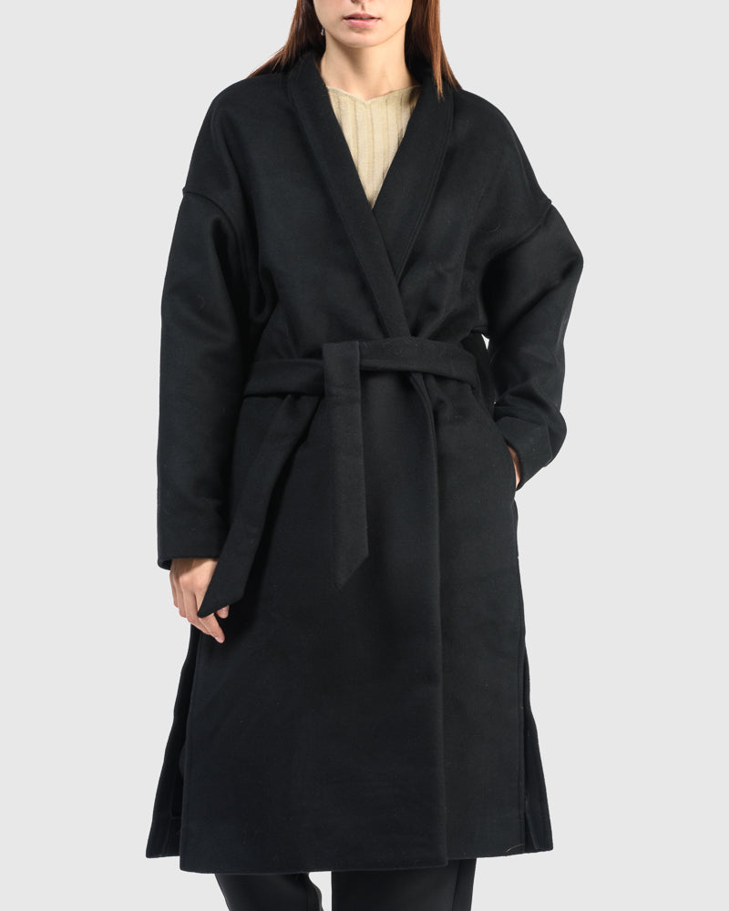 Chelsea Coat in Black