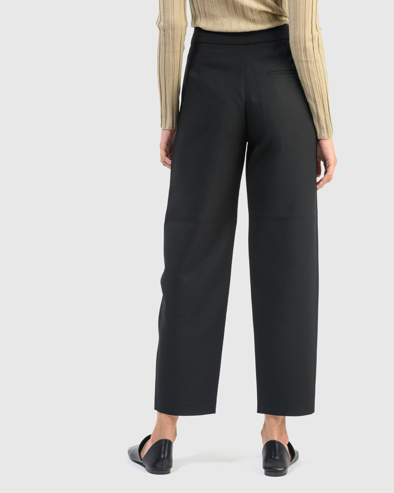 Novara Trouser in Black