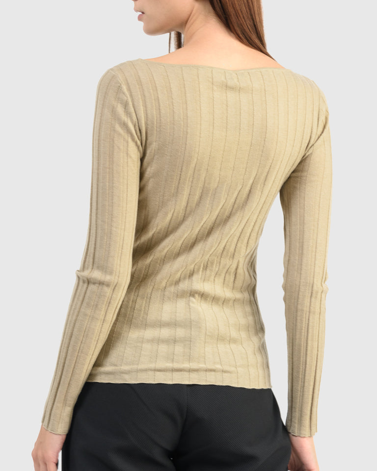 Toury Top in Beige