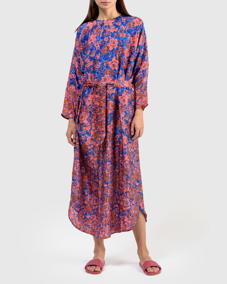 Easy Dress in Panel Print P