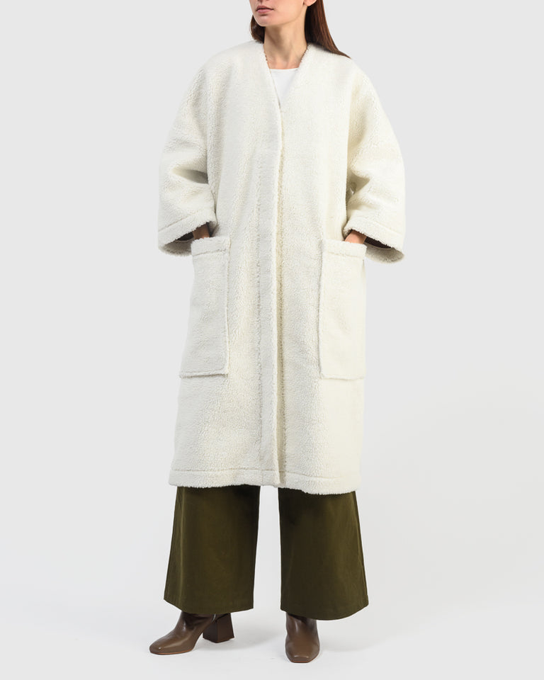 Jolene Coat in Natural