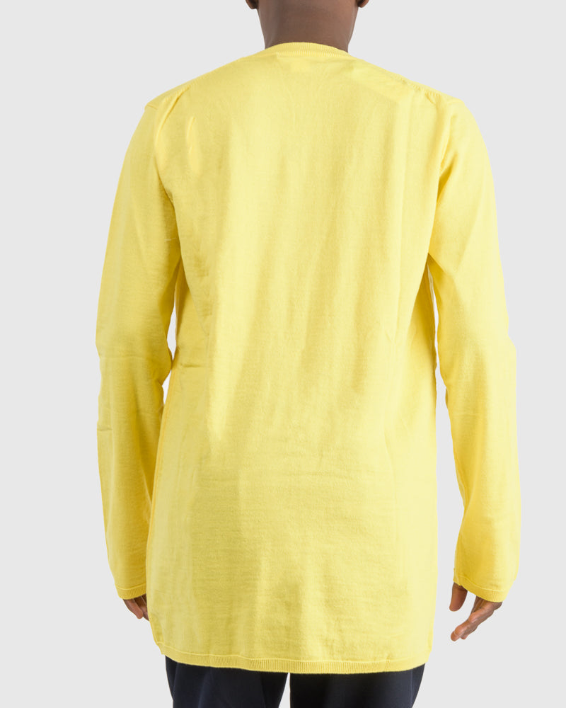 Pullover Sweater in Yellow