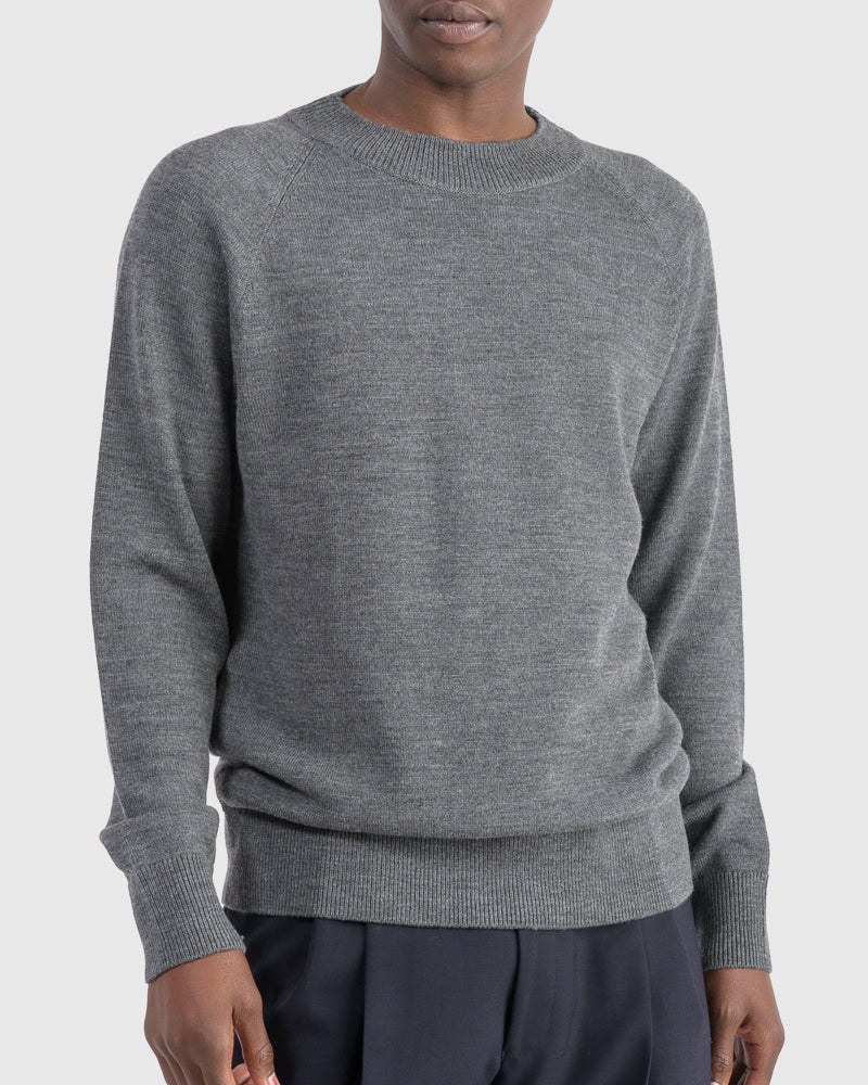 Teofil Sweater in Anthracite
