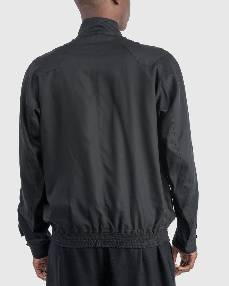 Track Jacket in Black