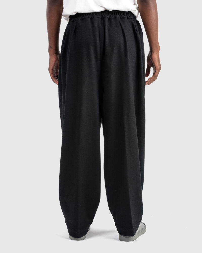 Wool Pants in Black