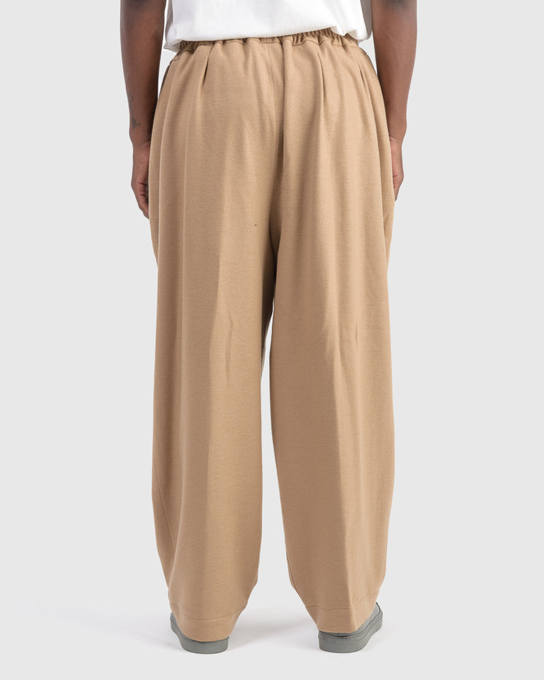 Wool Pants in Camel