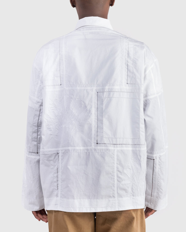 La Chemise Mouchoirs in White