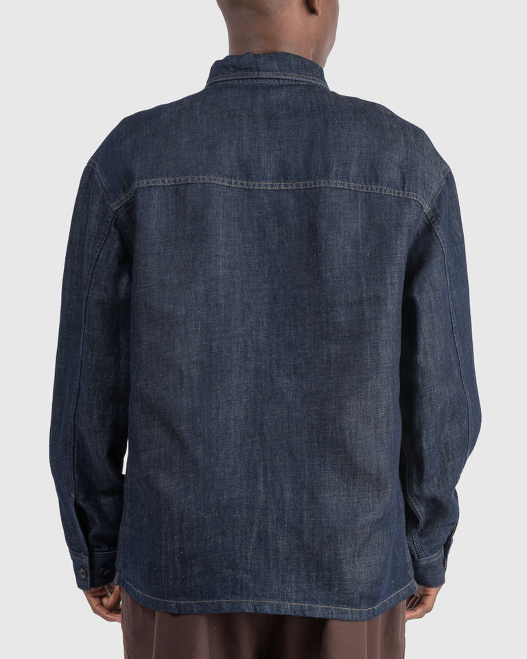 Overshirt in Light Indigo