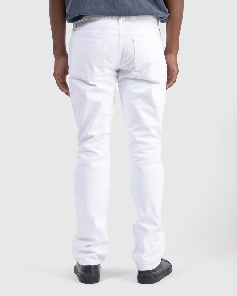 Kurt Five Pocket in White