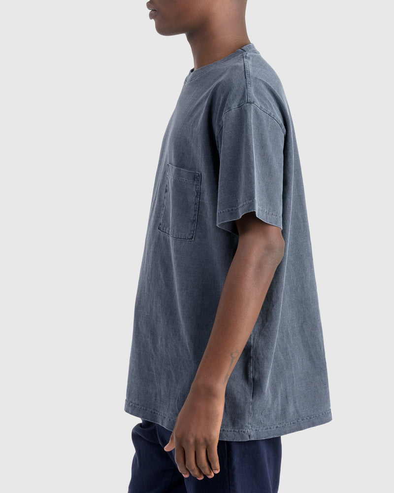 Big Pocket Tee in Navy