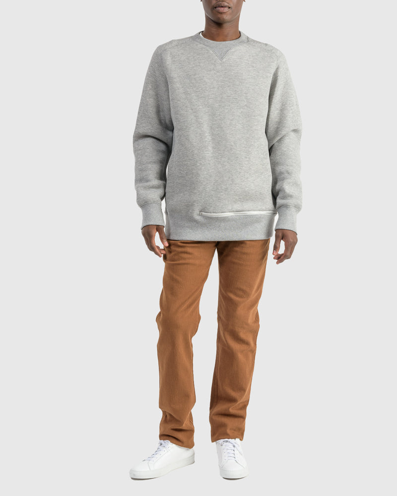 Sponge Sweatshirt in Light Grey
