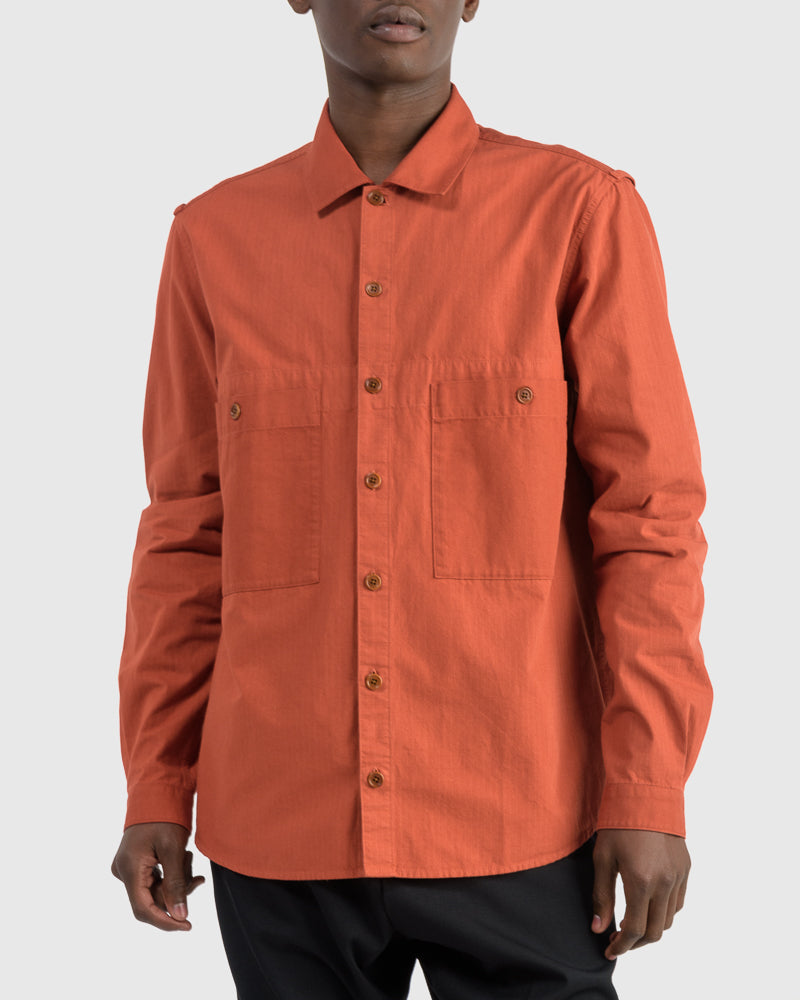 Doc Savage Shirt in Rust