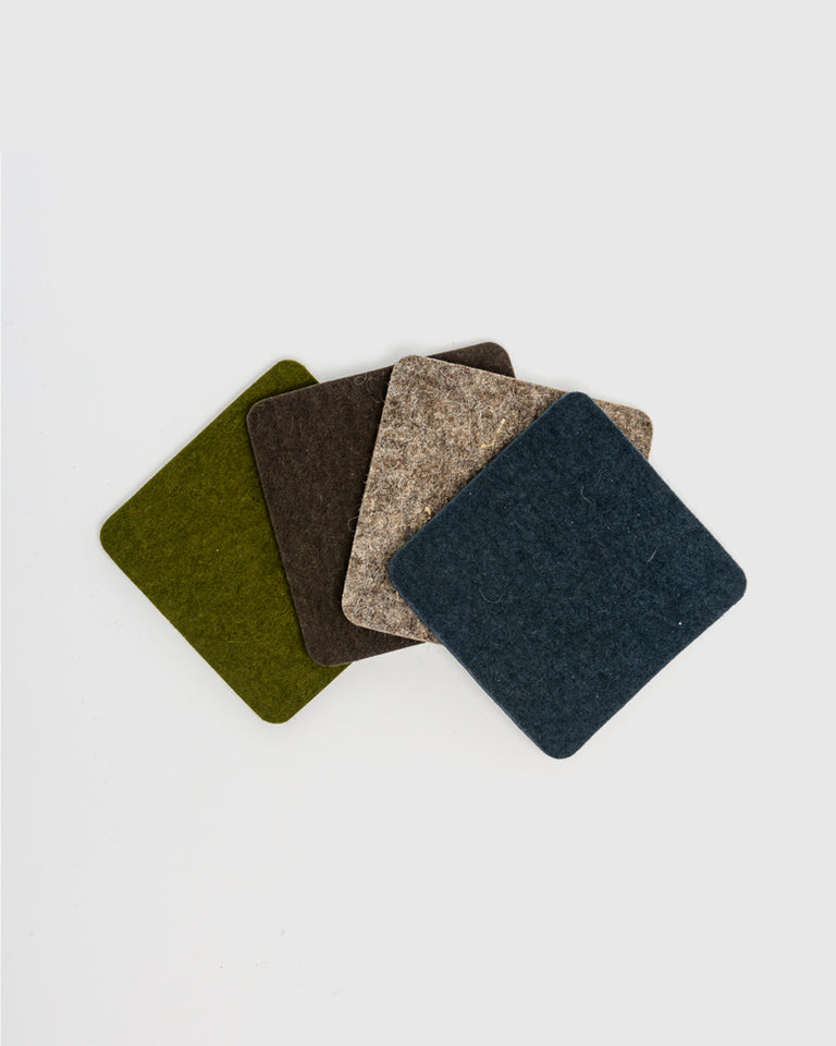 Coaster Square 4 Pack in Alpine