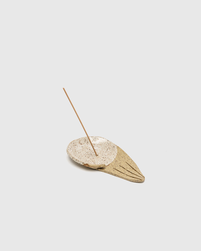 Open Palm Triangle Incense Holder