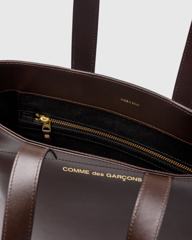 Classic Leather Bag 9002 in Brown
