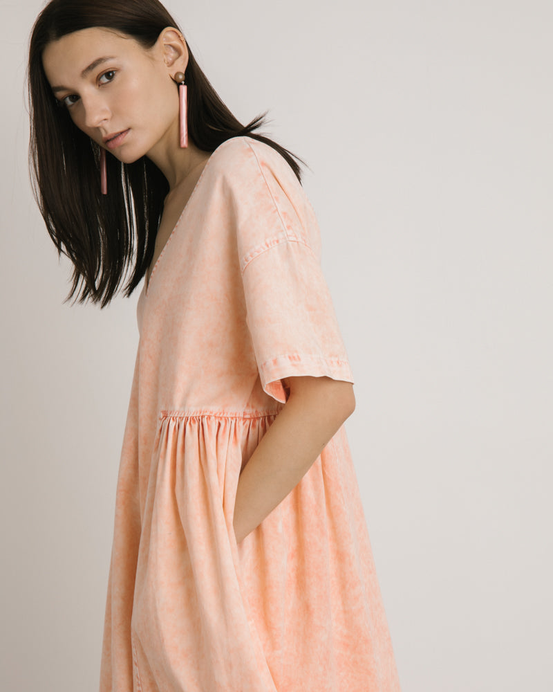 New Cardiff Dress in Sherbert