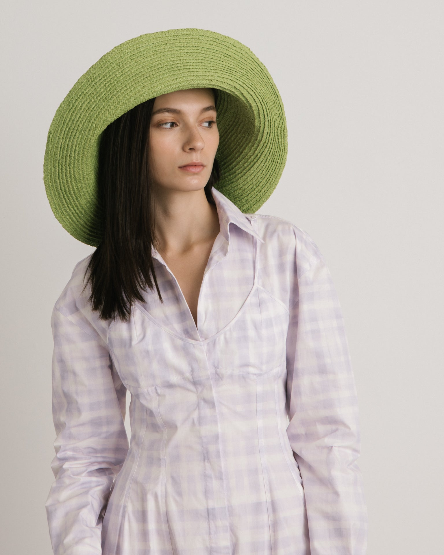 Le Chapeau Valensole in Light Green