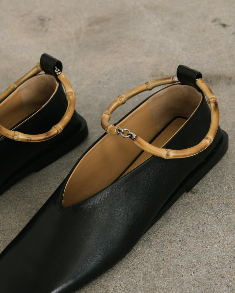 Bamboo Ballerina in Black