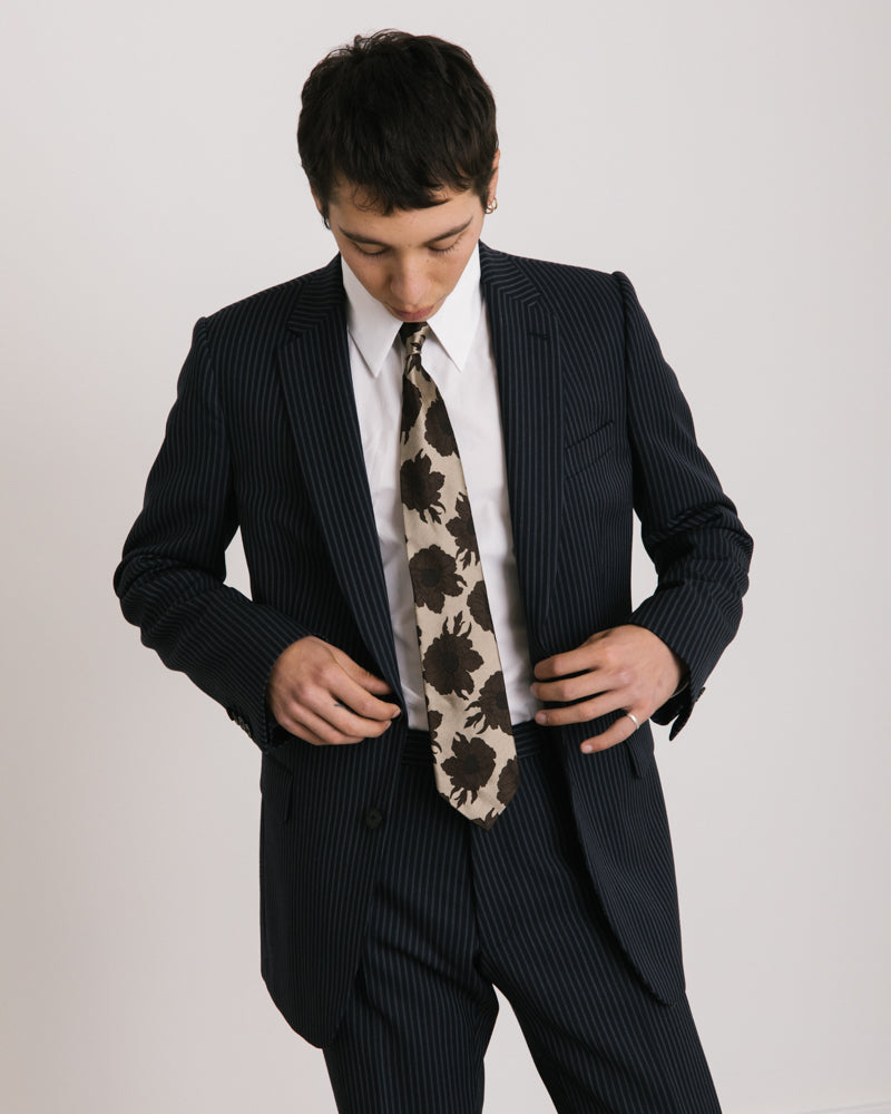 Kline Suit in Navy Pinstripe