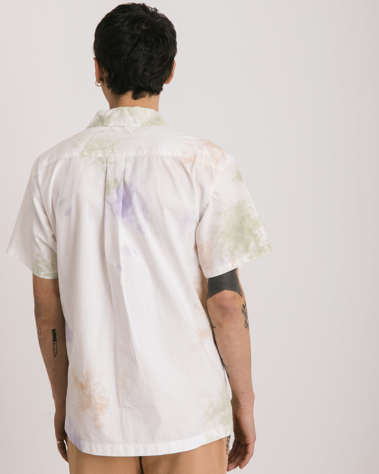 Bowling Shirt in Balboa Ink Bloom