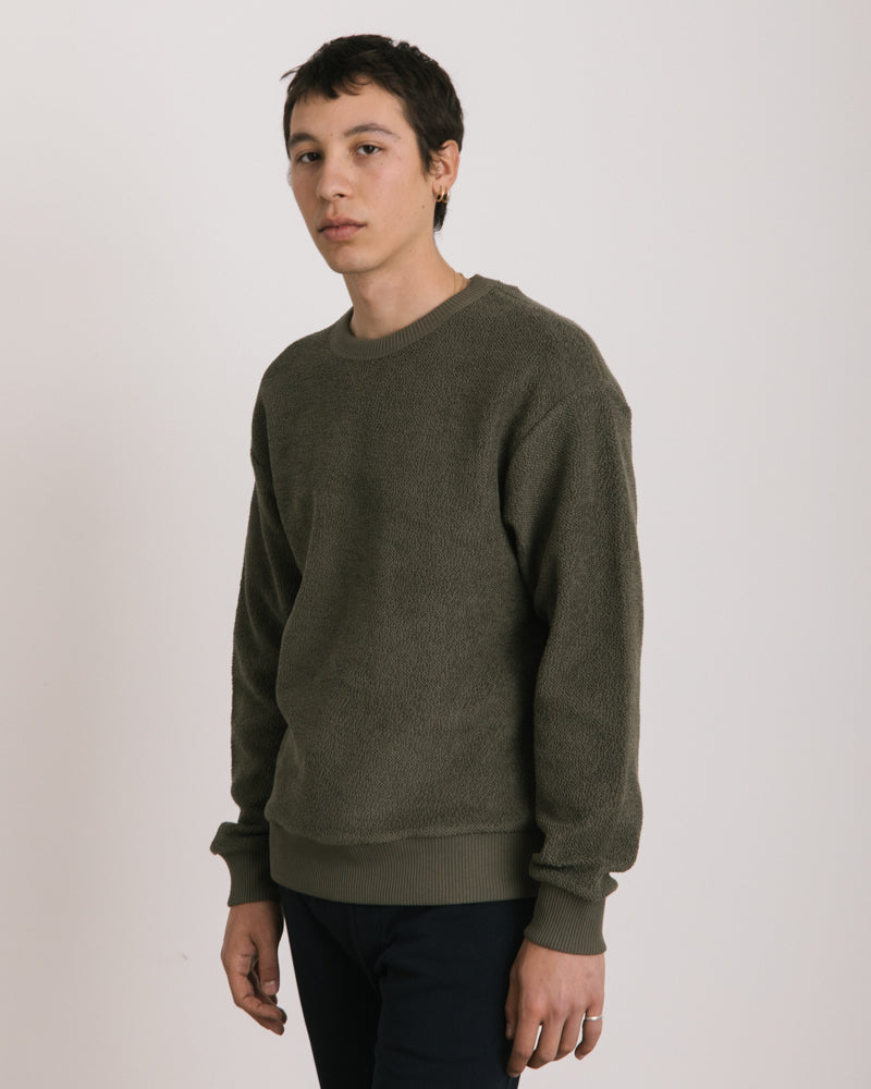 Hefel Sweater in Khaki