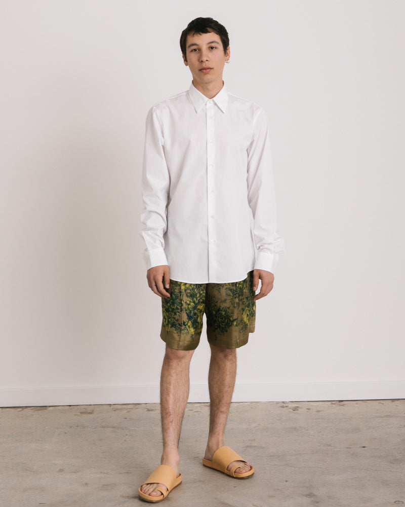 Curle Shirt in White