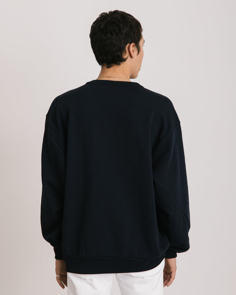 Hoxto Sweater in Navy