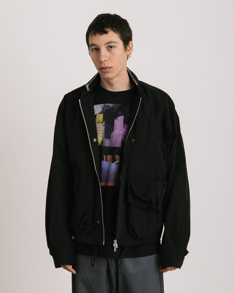 Vomo Jacket in Black
