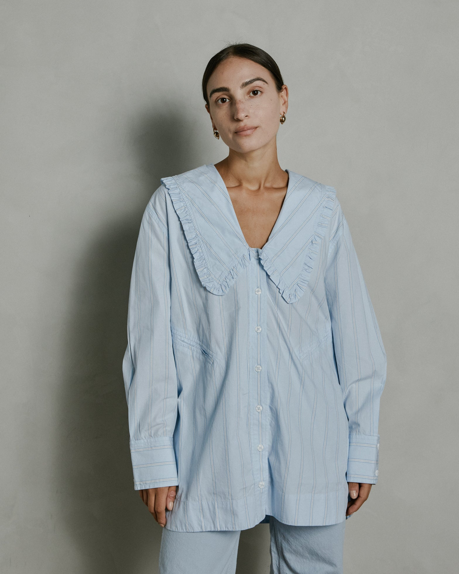 Oversized Shirt in Heather