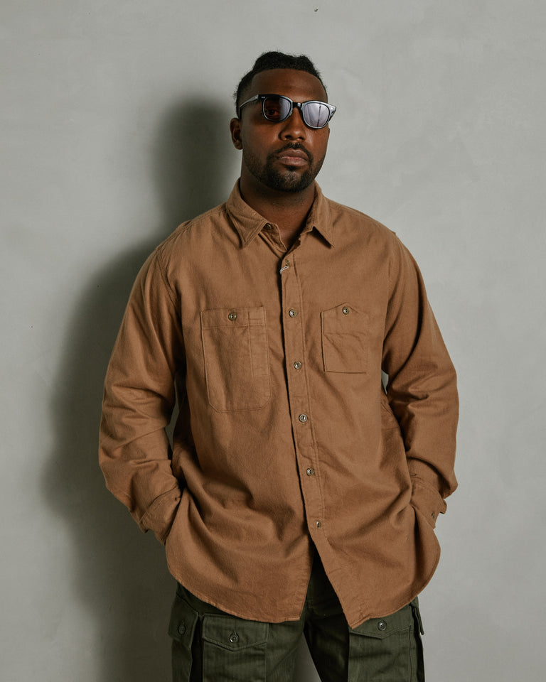 Work Shirt in Khaki