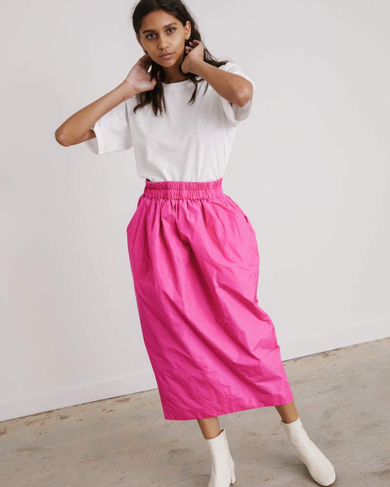 Sofya Skirt in Fuchsia