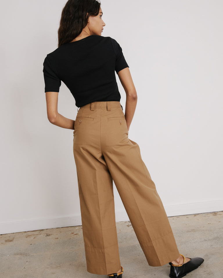 Paroval Pants in Camel