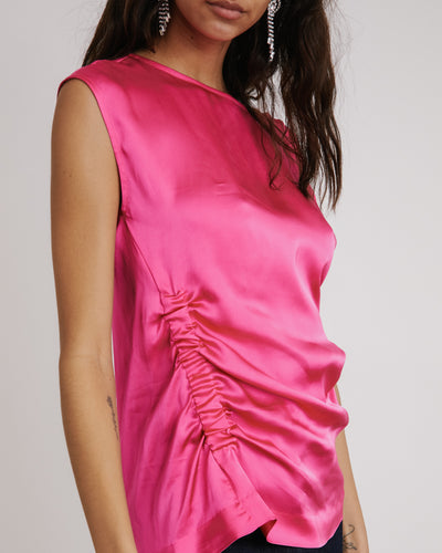 Ceto Top in Fuchsia