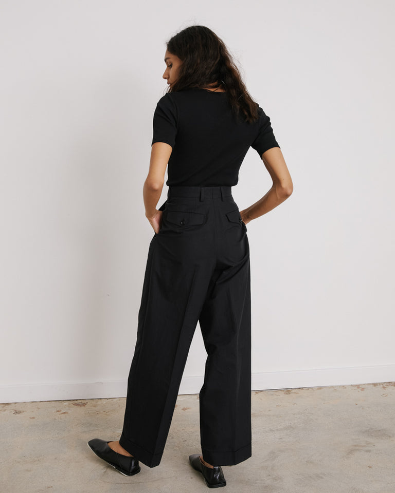 Partan Pants in Midnight