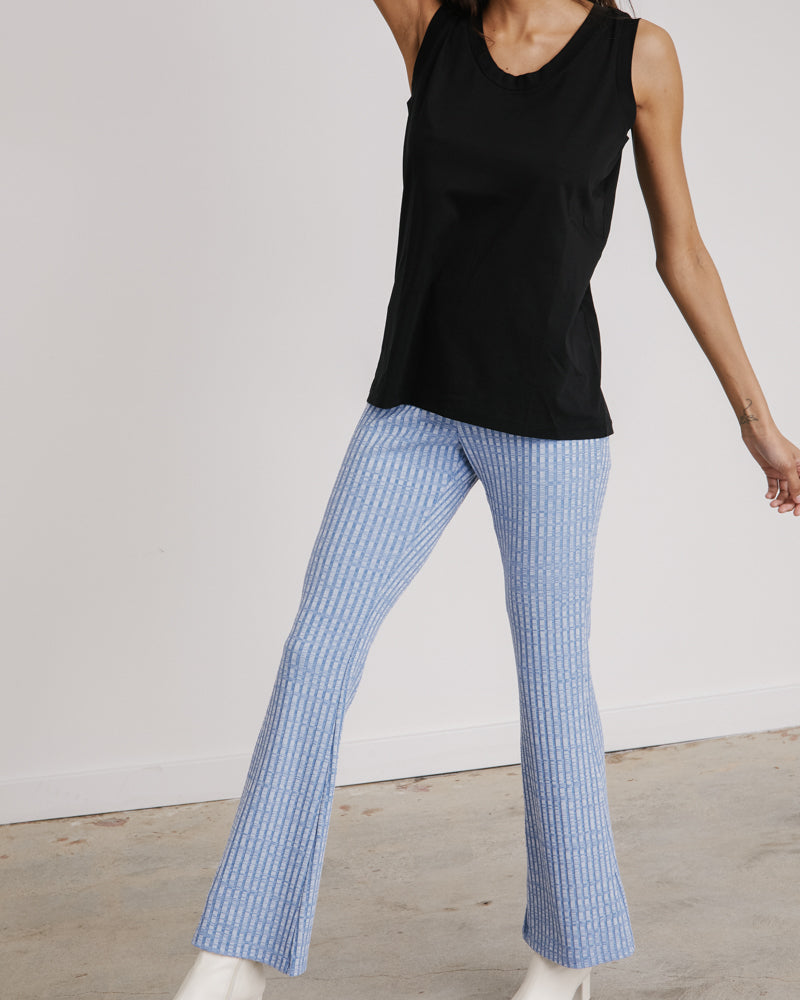 Pants in Heather Blue