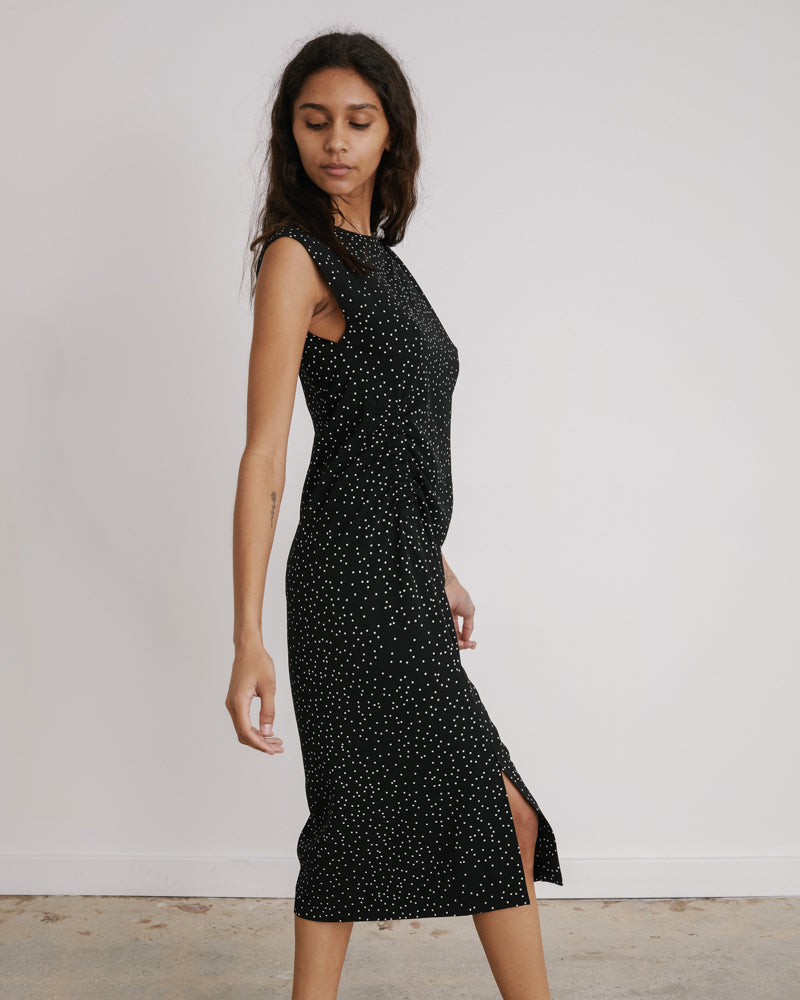 Deto Dress in Black