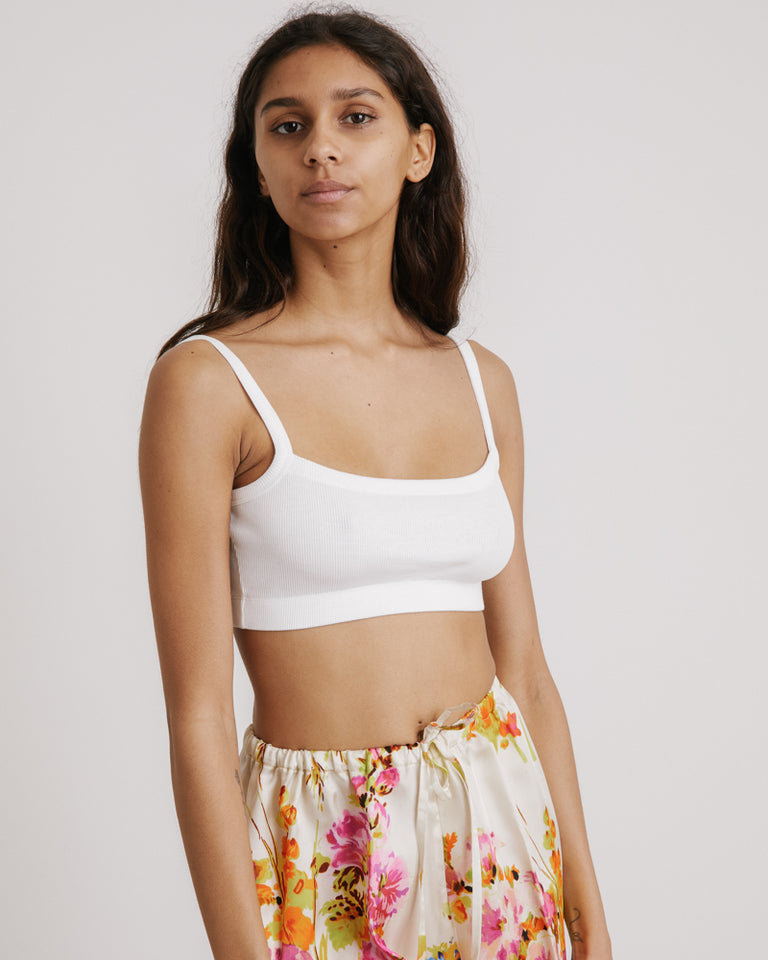 Helter Top in White