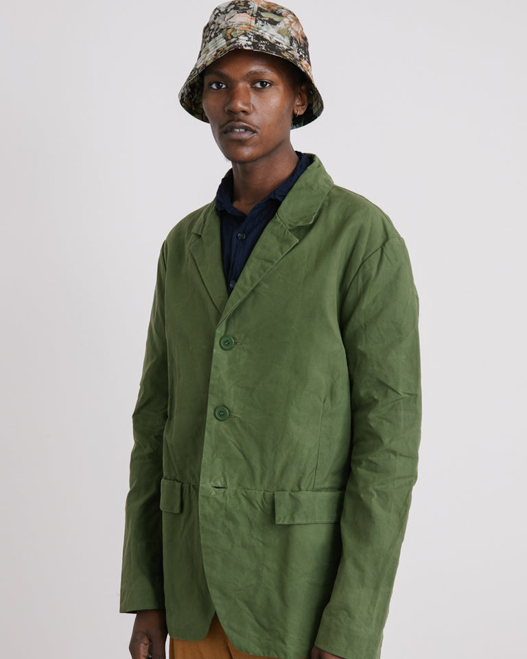 Flag Jacket in Green