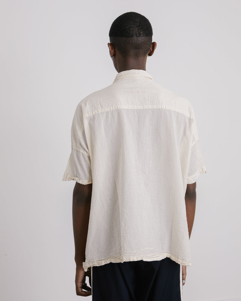 Square Shirt in Natural