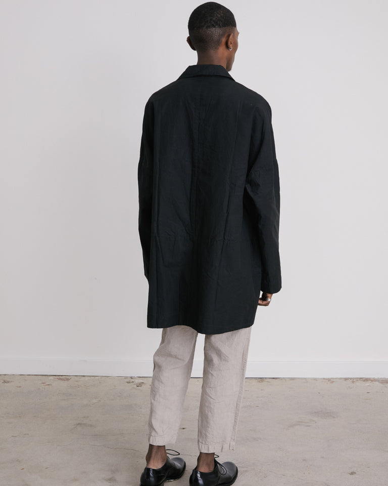 Wasabi Coat in Black