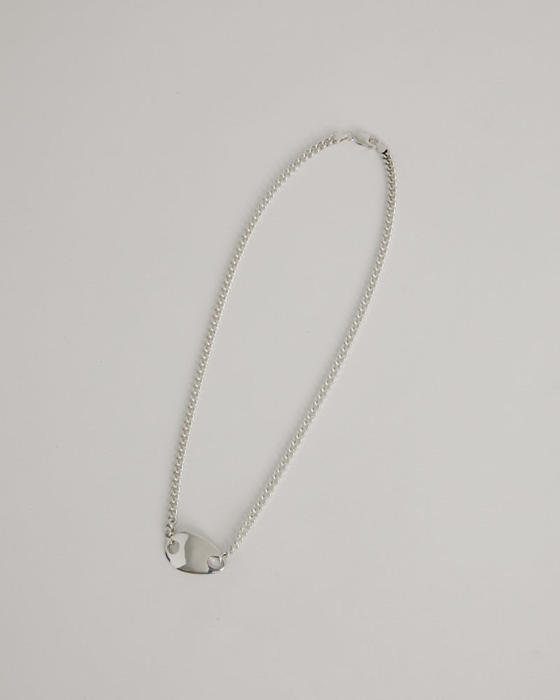 ID Necklace in Sterling Silver