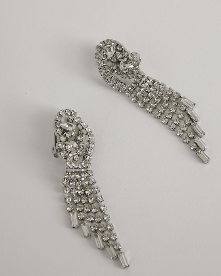 Rerun Earring in Crystal